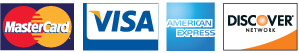Rogisnky Dental accepts Visa, Mastercard, American Express, and Discover